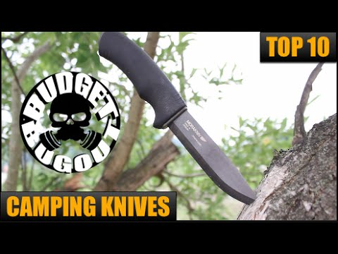 Top 10 Best Camping, Survival, Tactical, Hunting & Bushcraft Knives for the Outdoors | Budget Bugout