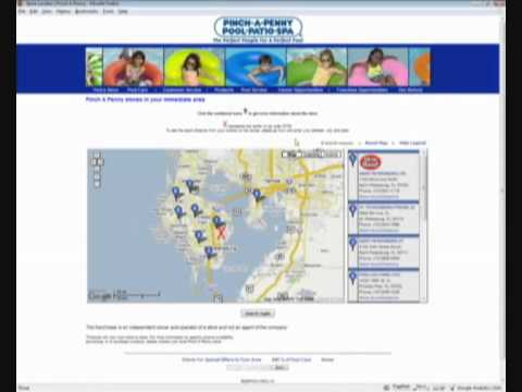 store locator google yahoo maps