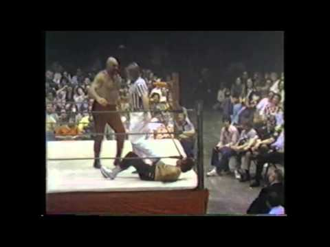 Ox Baker vs Juan Zapata   WWA   All Star Championship Wrestling