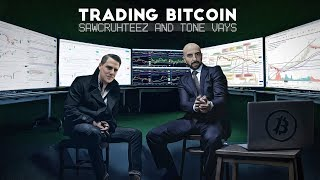 Trading Bitcoin w/ Sawcruhteez - Will Bitcoin Break Out!