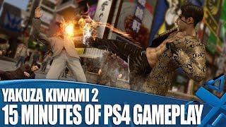 Yakuza Kiwami 2 - 15 Minutes of PS4 Gameplay