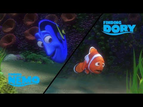 Scene Comparison: Finding Nemo VS Finding Dory