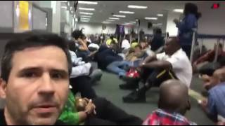 Panic and prayer in the Fort Lauderdale airport
