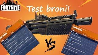 Test broni z przed i po wprowadzeniu nowego systemu perków! Fortnite: Ratowanie świata