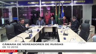 SESSÃO CÂMARA DE RUSSAS 09 10 2018