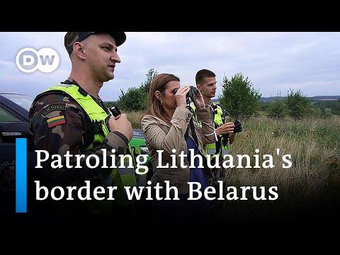 Lithuania facing migration wave on Belarus border | DW News