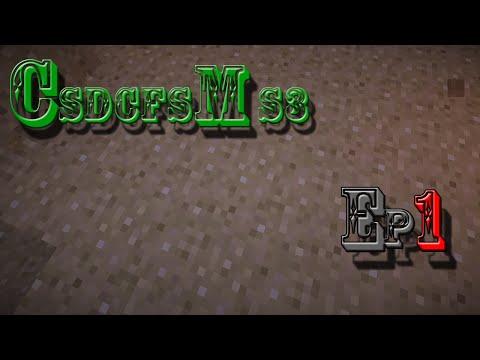 Construction d'un CHATEAU FORT sur Minecraft Saison 3   #01   Découverte...  [HD]