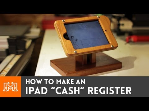 "How to make an iPad ""cash"" register"