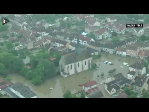 Images spectaculaires du Loiret sous les eaux