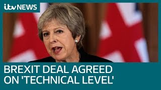 Cabinet to meet as Brexit deal agreed on 'technical level' | ITV News