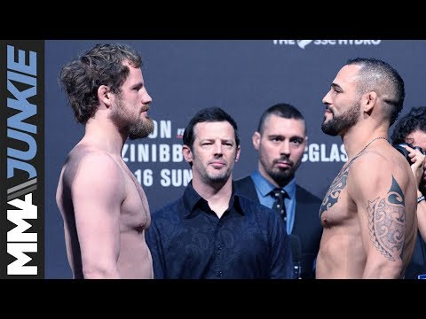 UFC Fight Night 113 ceremonial weigh-in highlight