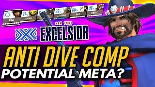 Overwatch | The ANTI DIVE COMP + Potential New Meta?