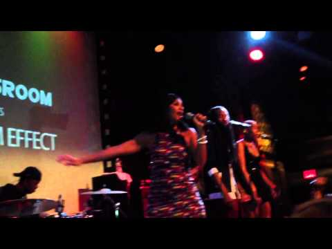 Teedra Moses performs ' Rescue Me ' live at SOBs 2013 SingersRoom