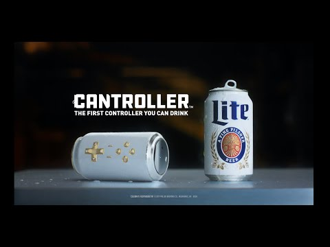 Tech Toys - Miller Lite Turns Beer Can Into Video Game Controller