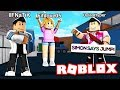 MY LITTLE SISTER'S FIRST TIME PLAYING MM2 SIMON SAYS!! (Roblox)