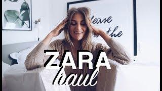 Zara Haul 2018   Unboxing & Try On   Sinead Crowe