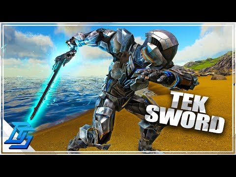 NEW Tek Sword, Tek Shield , Tek Light, NEW METAL DESTROYER - Ark Survival Evolved