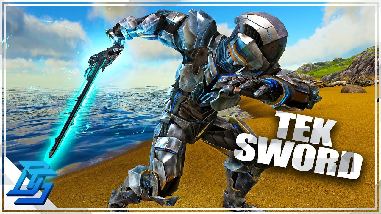 NEW Tek Sword, Tek Shield , Tek Light, NEW METAL DESTROYER   Ark Survival  Evolved