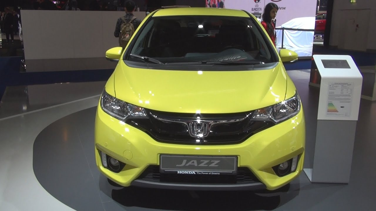 honda jazz 1 3 elegance 2016 exterior and interior in 3d youtube. Black Bedroom Furniture Sets. Home Design Ideas