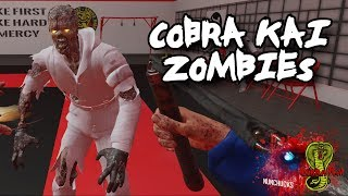 CRUSHING Cobra Kai Zombies With My Nunchaku! (Black Ops 3 Custom Zombies)