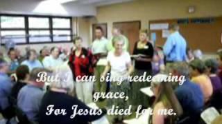 Alabama shapenote singers leading