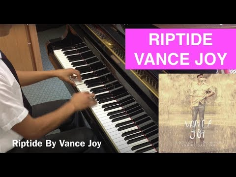 """RIPTIDE"" - VANCE JOY - Piano Cover (+ SHEETS & LYRICS!) JJPIANO"