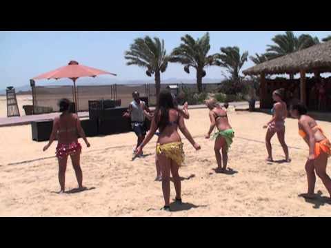 Amwaj Blue Beach Resort & Spa - July 2014 - Beach Belly Dance Sexy Slo-Mo