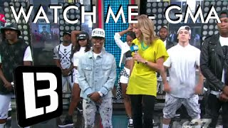 Silento - Watch Me (Whip/Nae Nae) - LITTLE BOY - Good Morning America
