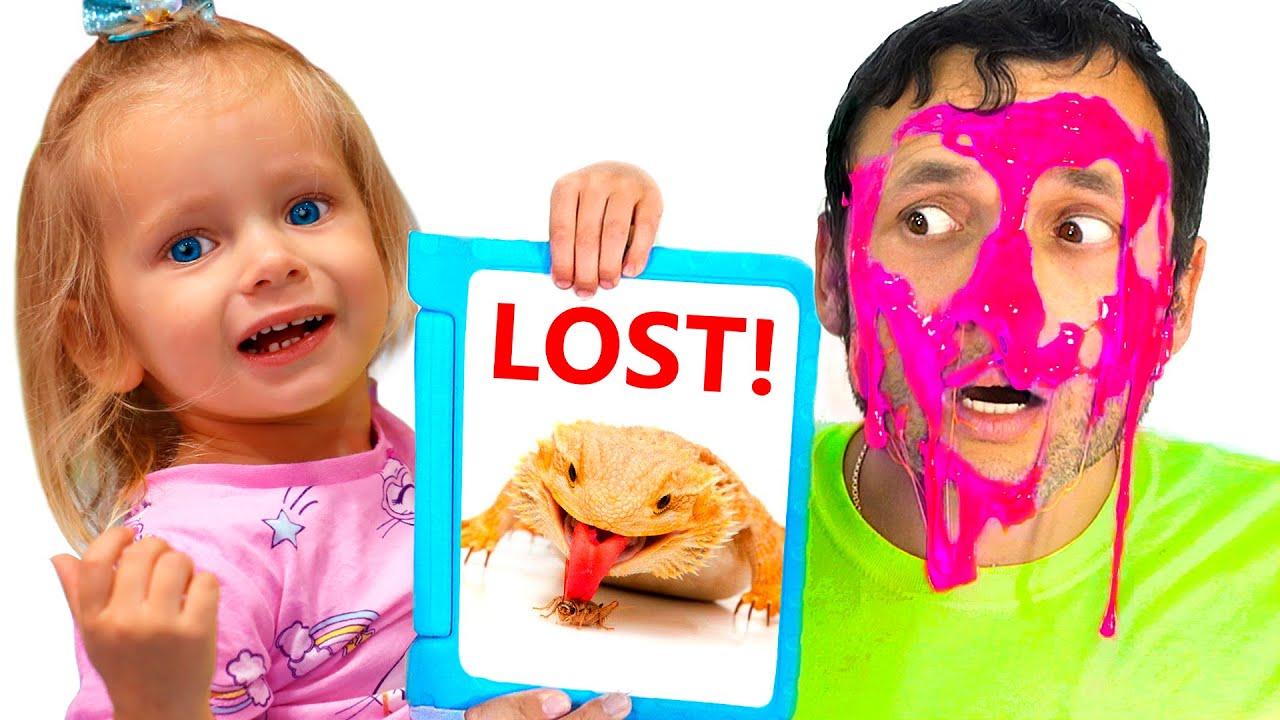 खो जाते हैं और साथ ही अन्य बच्चों के गीतों के बारे में एक गीत | Lost Pet Song for Children