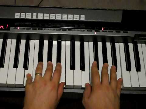 How to play E chord on Piano - YouTube