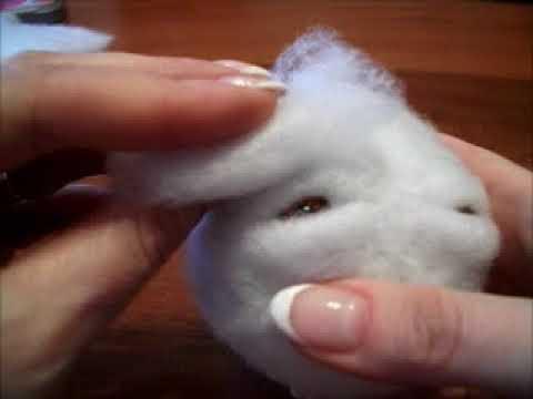 видео: Урок по изготовлению лица куклы