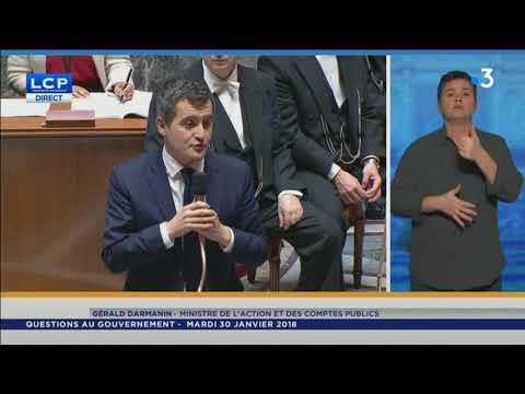 Intervention de Gérald Darmanin le 30 janvier 2018 à l'Assemblée nationale