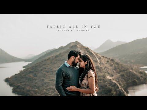 Fallin All In You 💜   Swapnil  - Akshita    Udaipur    Prewedding Shoot   
