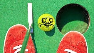 ME GUSTA MINI GOLF - Tower Unite Mini Golf Funny Moments