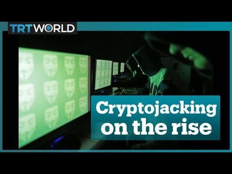 What is 'cryptojacking'?
