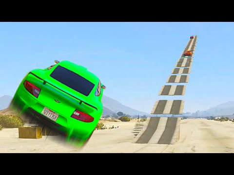 STAIRWAY TO HEAVEN (GTA 5 Funny Moments)