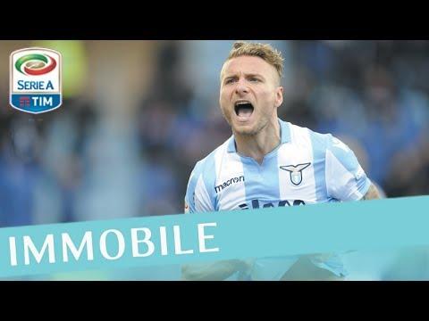 Il gol di Immobile - Cagliari - Lazio 2-2 - Giornata 28 - Serie A TIM 2017/18