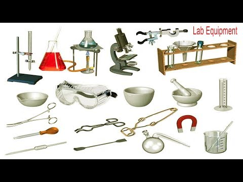 Laboratory Equipment/ Instrument Names, Meaning & Images | Laboratory Equipment Vocabulary