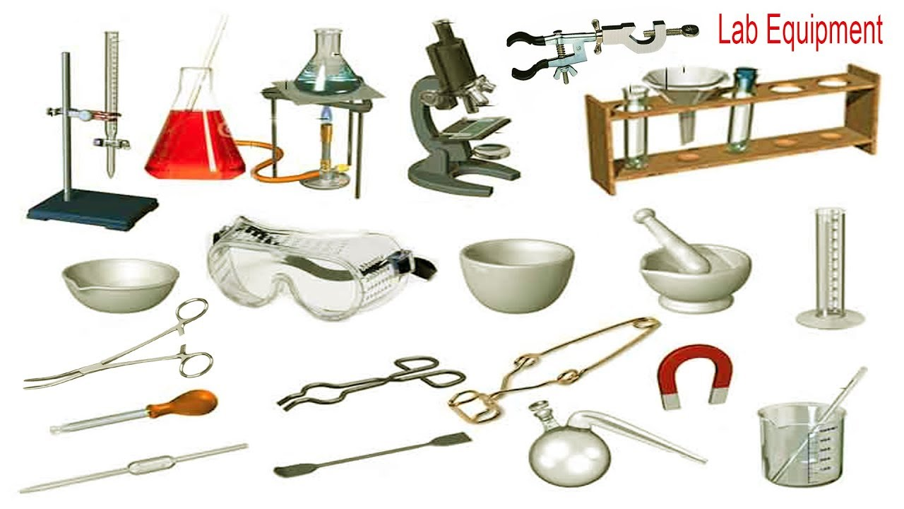 science laboratory tools and equipments