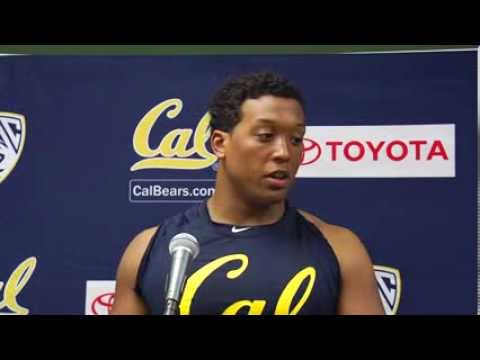 Cal Football: LB Hardy Nickerson UCLA Post Game (Oct. 12, 2013)