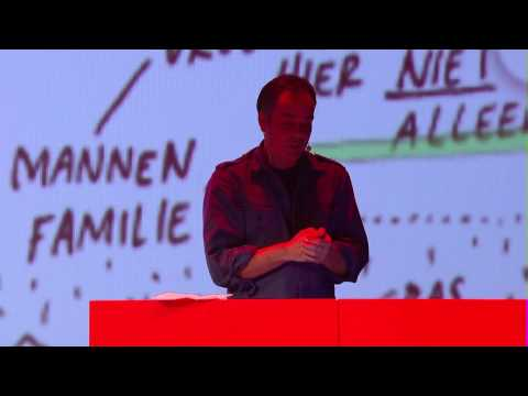 Refugee Republic, the interactive map of daily life in a refugee camp | Jan Rothuizen | TEDxKMA