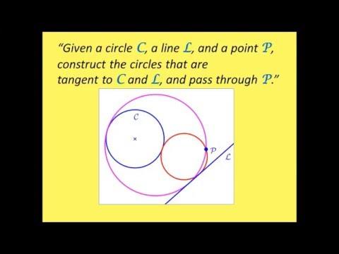 "Apollonius Problem ""CLP"" Special Case: Solution via Geometric (Clifford) Algebra"