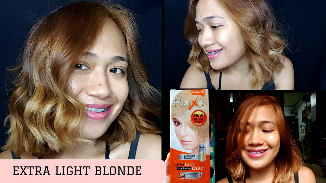 Extra light blonde