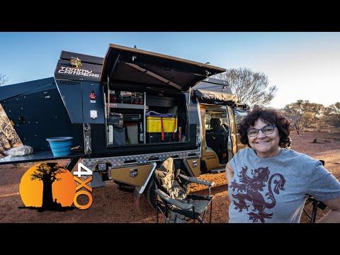 """""""No Harm in Trying"""". Aussie Dream Tourer's first trip begins."""