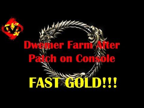 ESO Dwemer Motif Farm after Patch
