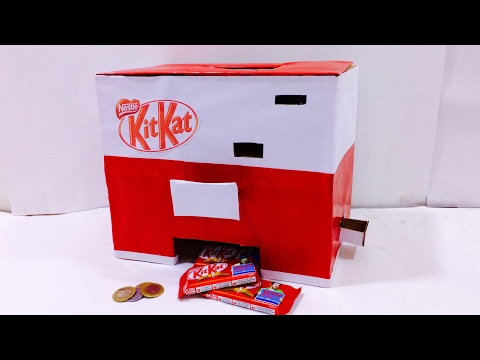 How to make KitKat Chocolate Vending Machine