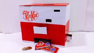 How to make KitKat Chocolate Vending Machine