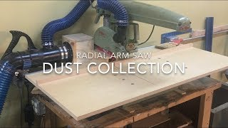 Radial Arm Saw Dust Collection