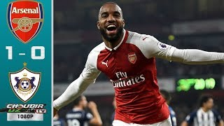 Arsenal vs Qarabag FK 1-0 UEFA Europa League 13/12/2018 HD
