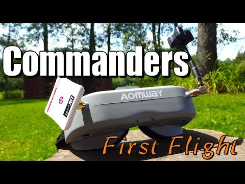 Aomway Commander First Flight : Coming from Box Goggles!